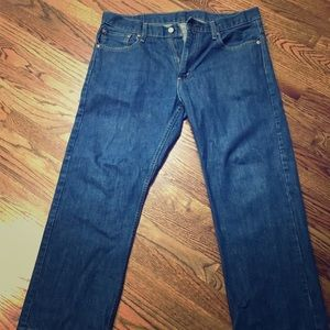 Mens levis Jeans Size 34 30 34x30 569 worn once